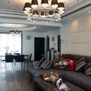 客厅装修设计吊灯图