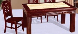 坚硬的大理石餐桌图片