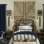儿童房卧室装修床铺图