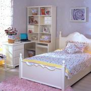 儿童卧室儿童床装修飘窗图