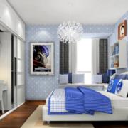 儿童房卧室装修整体图