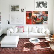 白色调客厅装修设计效果图