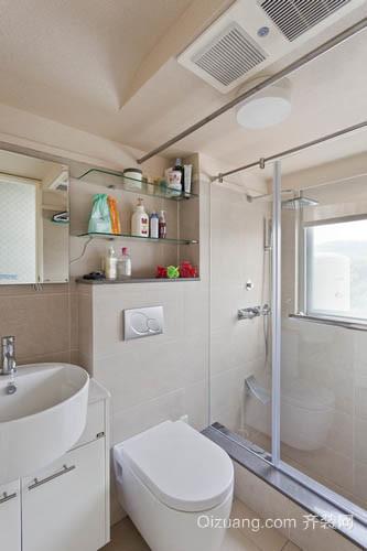 6平米超小清爽卫生间装修设计效果图