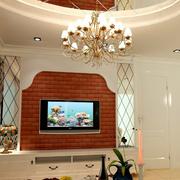 现代简约电视背景墙设计经典图