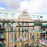 阳台花园设计外景图