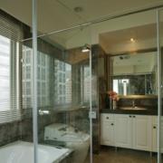 浴室屏风隔断装修飘窗