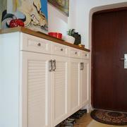 小户型家庭鞋柜装修整体图