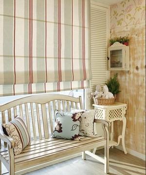单身公寓窗帘装修效果图