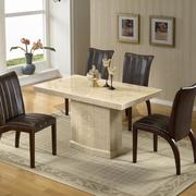 现代大理石餐桌效果图