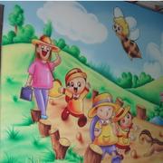 幼儿园壁画设计图
