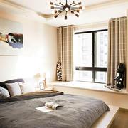 卧室飘窗设计床铺图