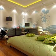 卧室硅藻泥装修灯光设计