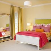 小卧室装修窗帘图