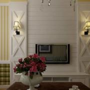 客厅电视背景墙装修造型图