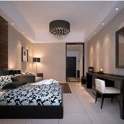 单身公寓装修卧室图