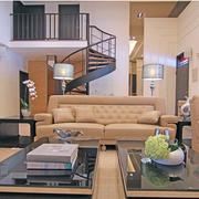 客厅装修楼梯图