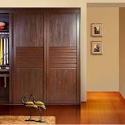 整体衣柜设计背景墙图