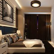 卧室榻榻米床装修吊灯图