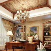 欧式风格书房装修飘窗图
