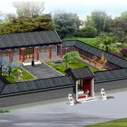 北京四合院设计模板
