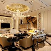 欧式风格家装装修沙发图