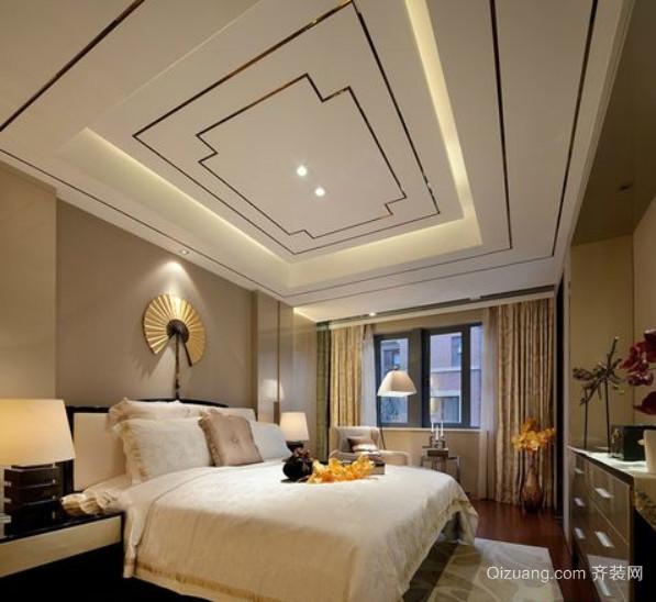 两室一厅主卧欧式奢华卧室装修效果图