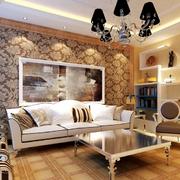 欧式客厅装修整体图