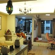 单身公寓装修室内图