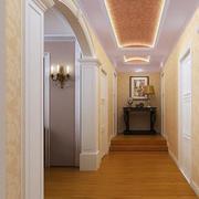 走廊吊顶装修背景墙图