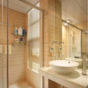 卫生间设计装修玻璃隔断