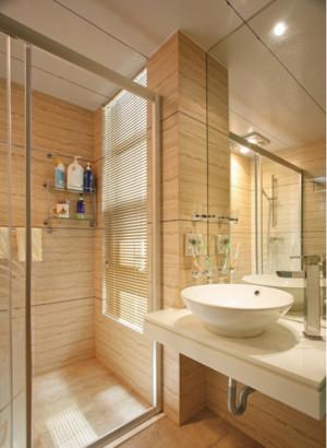 2015欧式小型4m卫生间装修设计效果图