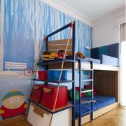 儿童卧室装修造型图
