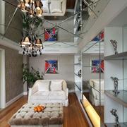 客厅吊顶装修整体图