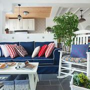沙发背景墙装修色调搭配