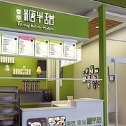 小户型奶茶店装修设计店铺图