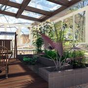 阳光房阳台装修效果图