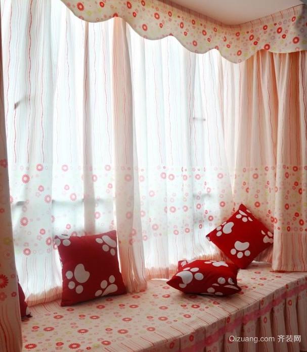 美观大方的卧室飘窗设计装修效果图