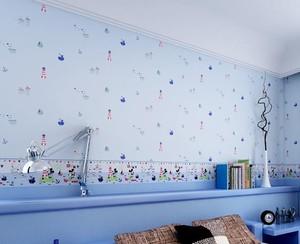儿童房卧室壁纸装修效果图