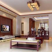客厅设计装修茶几图