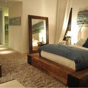 卧室榻榻米装修地板图
