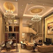 巴洛克风格客厅沙发设计