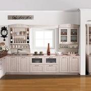 纯白厨房装修效果图