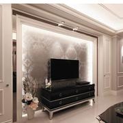 美式风格客厅装修电视背景墙
