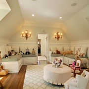 阁楼客厅设计图
