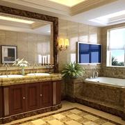 卫生间装修背景墙设计