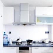 纯色厨房石膏板吊顶效果图
