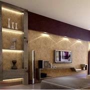 客厅液体壁纸设计背景墙