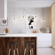 客厅吧台装修背景墙图