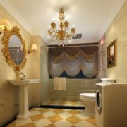 卫生间设计吊灯图