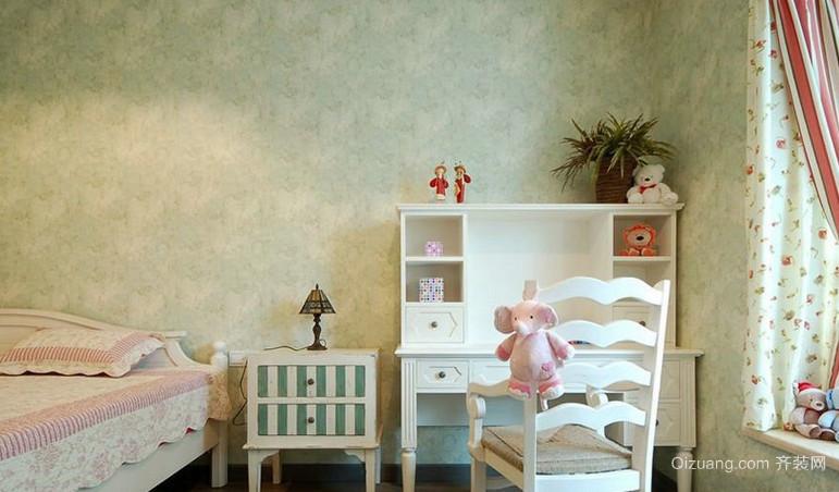 乡村田园风格的儿童房设计装修效果图鉴赏